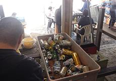 リサイクル作業